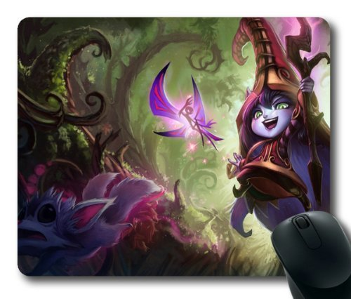 game-lol-league-of-legends-lulu-mouse-pad-mouse-mat-rectangle-by-ieasycenter