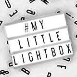 Mini insegna luminosa led e lettere