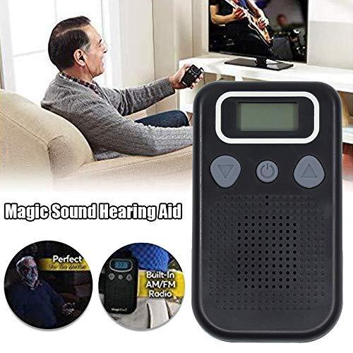Amplificador para oído de ayuda para personas mayores