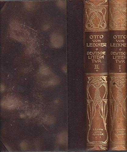 Geschichte der Deutschen Literatur in 2 Bänden