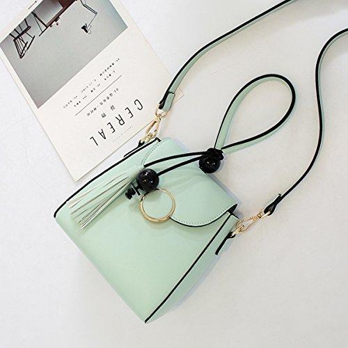 kleine seitenpaket Su bao mode casual Schulter messenger bag tragbare frau Blau