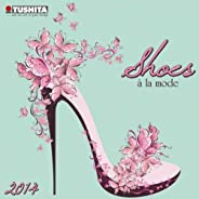 Shoes a La Mode: Graphic 2014 (Mini Calendars)