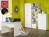 Büro-Kombi Set Möbel Schrank Regal Beistellregal Beistellschrank