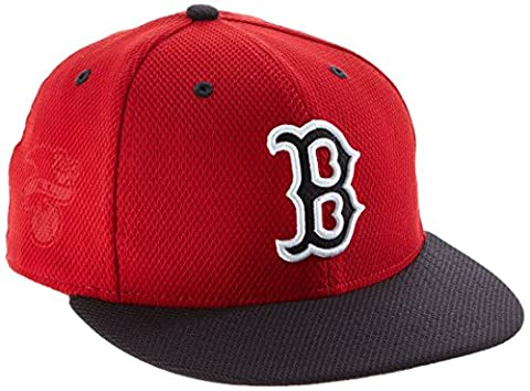 New Era Cap Boston Red Sox, Scarlet/Navy, 712, 11246891