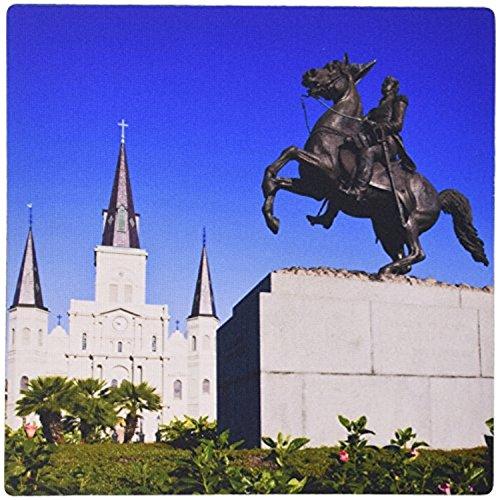 St Louis Statue (fongakde La New Orleans ST LOUIS Cathedral Statue US19wbi0131Walter Bibikow Mauspad (MP _ 90490_ 1))