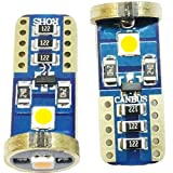 T103030LED Canbus Luces ámbar Indicador Blinker repetidor lateral naranja T15501W5W ea2r6