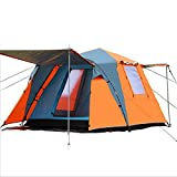 QAR Automatisches Doppelzelt Im Freien 3-4 Multiplayer Campingzelt Platz Top Zelt Zelt
