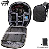 Brain Freezer J DSLR SLR Shoulder Backpack for Canon, Nikon, Sigma and Olympus Camera (Gray)
