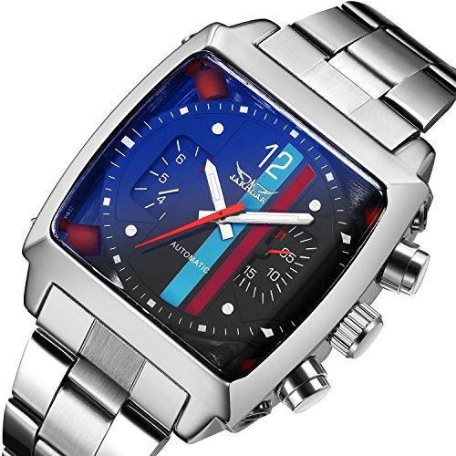 Gute quadratisch Automatische Herren Armband watch-black