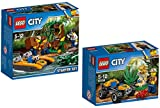 LEGO City 60157 - Dschungel-Starter-Set + LEGO City 60156 - Dschungel-Buggy