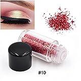 Wasserdicht Glitter Lidschatten Eyeshadow Pulver,OYOTRIC Nature Glow Schimmern...