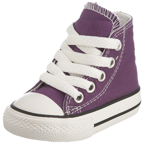Converse Chuck Taylor All Star Toddler High Top, Scarpe per bambini, Grigio (Charcoal), 22 EU