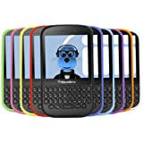 iTALKonline BlackBerry Q5 10 Stück LILA ROT Grün BLAU