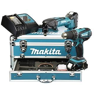 Makita DLX2031YX1 Akku-Set 18 V (DDF456RHE + DTM50Z)