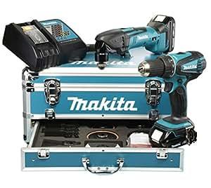 Makita Set 18 V DDF456RHE, DTM50Z, et DLX2031YX1