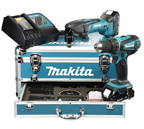Preisvergleich Produktbild Makita Akku-Set 18 V DDF456RHE und DTM50Z, DLX2031YX1