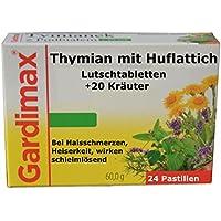 Gegen Viren und Bakterien Thymian und Huflattich plus 20 ausgesuchte Kräuter Extrakte Lutschtabletten - antibakteriell... preisvergleich bei billige-tabletten.eu