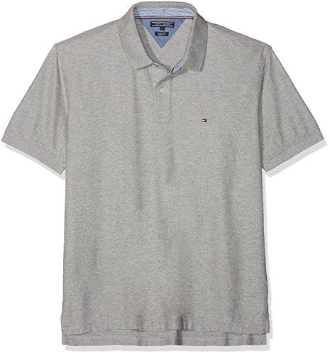 474674d7319f Tommy Hilfiger Herren Poloshirt Core Hilfiger Regular Polo, Grau (Cloud HTR  501),