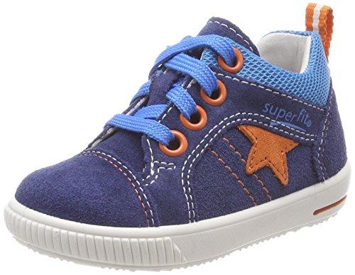 superfit Baby Jungen Moppy Sneaker, Blau (Water Kombi), 25 EU