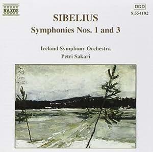 Sibelius Sinfonie 1 und 3 Sakari