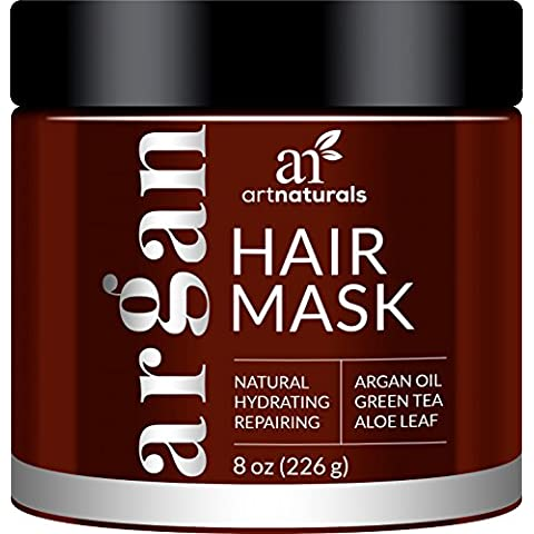 Artnaturals argan oil Hair Mask – Deep conditioner – 100% organico jojoba, aloe vera