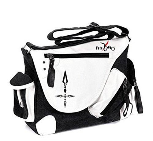 Siawasey Japanische Anime Cosplay Handtasche Rucksack Messenger Bag Umhängetasche, Fate/Stay Night