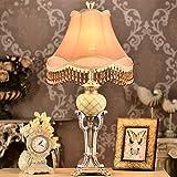 La sala de estar Lámparas y linternas de restaurar maneras antiguas Dormitorio clásico Litera lámpara Resina lámpara Decoración del hogar Lámpara de escritorio ( Color : Regulador de intensidad )