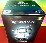 Nespresso aeroccino4New Model 4192-gb Milk Frother, Silver, 220–240V, Hot & Cold, for Cappuccino & Latte, Aeroccino, Brand New