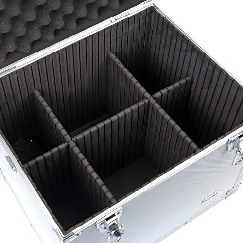 HMF 14802-02 Putzbox, Alu Aufbewahrungsbox, Universalkoffer, 41 x 33 x 36 cm - 3
