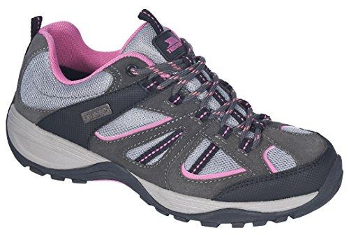 Trespass Jamima, Chaussures d'Athlétisme Femme Gris (Grey)
