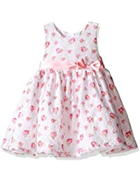 Little Me Toddler Baby Girls' Printed Lace Dress