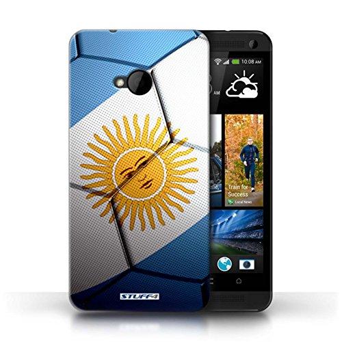 Coque de Stuff4 / Coque pour HTC One/1 M7 / Angleterre Design / Nations de Football Collection Argentine