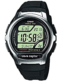 Casio Wave Ceptor – Herren-Armbanduhr mit Digital-Display und Resin-Armband – WV-58E-1AVEF