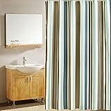 Duschvorhang anti-schimmel 200x220,Bad vorhänge wasserdicht,Shower curtain textil,duschvorhang 200 cm breite,Dusch Vorhang anti-Bakteriell waschbar mit 12 ring,Polyester Badewanne Duschvorhänge für Badezimmer