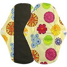 igemy toalla de mama sanitarias Pad Pad menstrual lavable gamuza de bambú reutilizable
