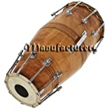 Sai Musical Solid Wood HM-0131 Hand Made Sheesham Wood Naal Brown Color - A Musical Instrument