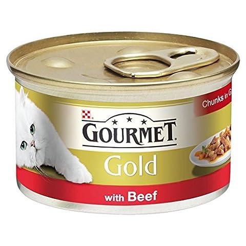 Gourmet Gold Beef Chunks in Gravy 85g