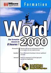 Microsoft Word 2000. Formation