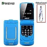 Baikewei Mini Flip Teléfono móvil Long-CZ J9 0.66'El teléfono Celular más...