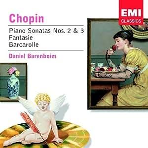 Chopin:Piano Sonata No.2&3 [Import anglais]