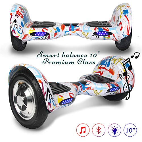 COLORWAY Hoverboard SUV, Gyropode 700W Self-balance avec Bluetooth&LED, Scooter Electrique Auto-équilibrag