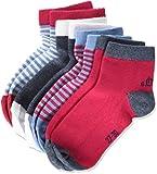 s.Oliver Socks Junior Fashion Quarter 4p, Calcetines cortos para Niñas, Rosa (virtual pink 36) 39-42 Pack de 4