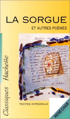 La Sorgue et autres poèmes