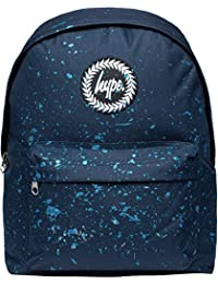 Hype Backpack Bags Rucksack | NAVY METALLIC BLUE SPECKLE | School Travel Day bag