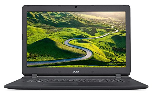 Acer Aspire ES1-732-P6XT PC Portable 17,3' HD Noir (Intel Pentium, 4 Go de RAM, Disque Dur 1 To, Intel HD Graphics, Windows 10)