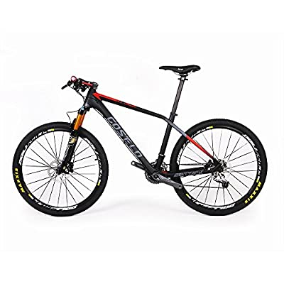 "Costelo Attack Mountain MTB Carbon fiber complete bike 27.5ER 650b 15"" 17"""