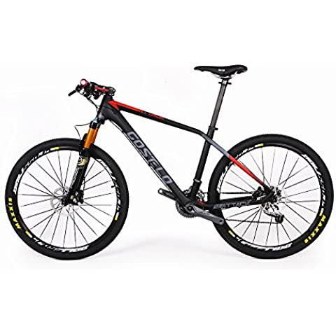Costelo Attack 27.5er Mountain Bike MTB Fibra di carbonio completa ruota 15