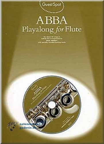 ABBA Playalong for Flute - Flöte Noten [Musiknoten]