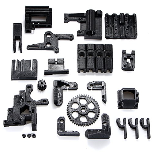 Alamor DIY ABS Material negro 3d impreso partes kit