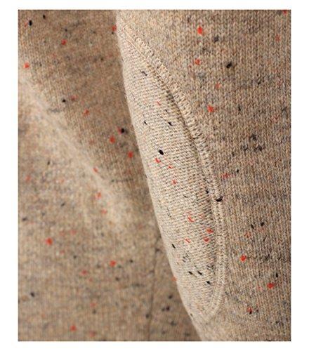 Casa Moda - Herren Pullover mit Rundhalsausschnitt in verschiedenen Farben (462536200A) Beige (659)